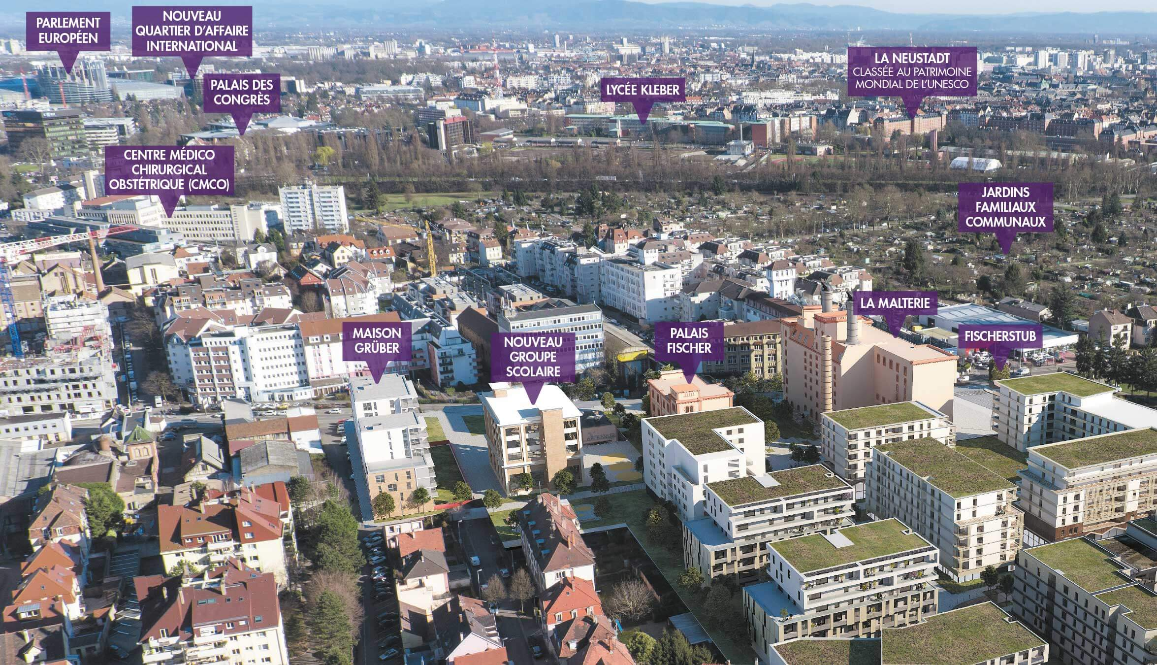 Programme immobilier neuf Jardin au Coeur - Quartier Fischer