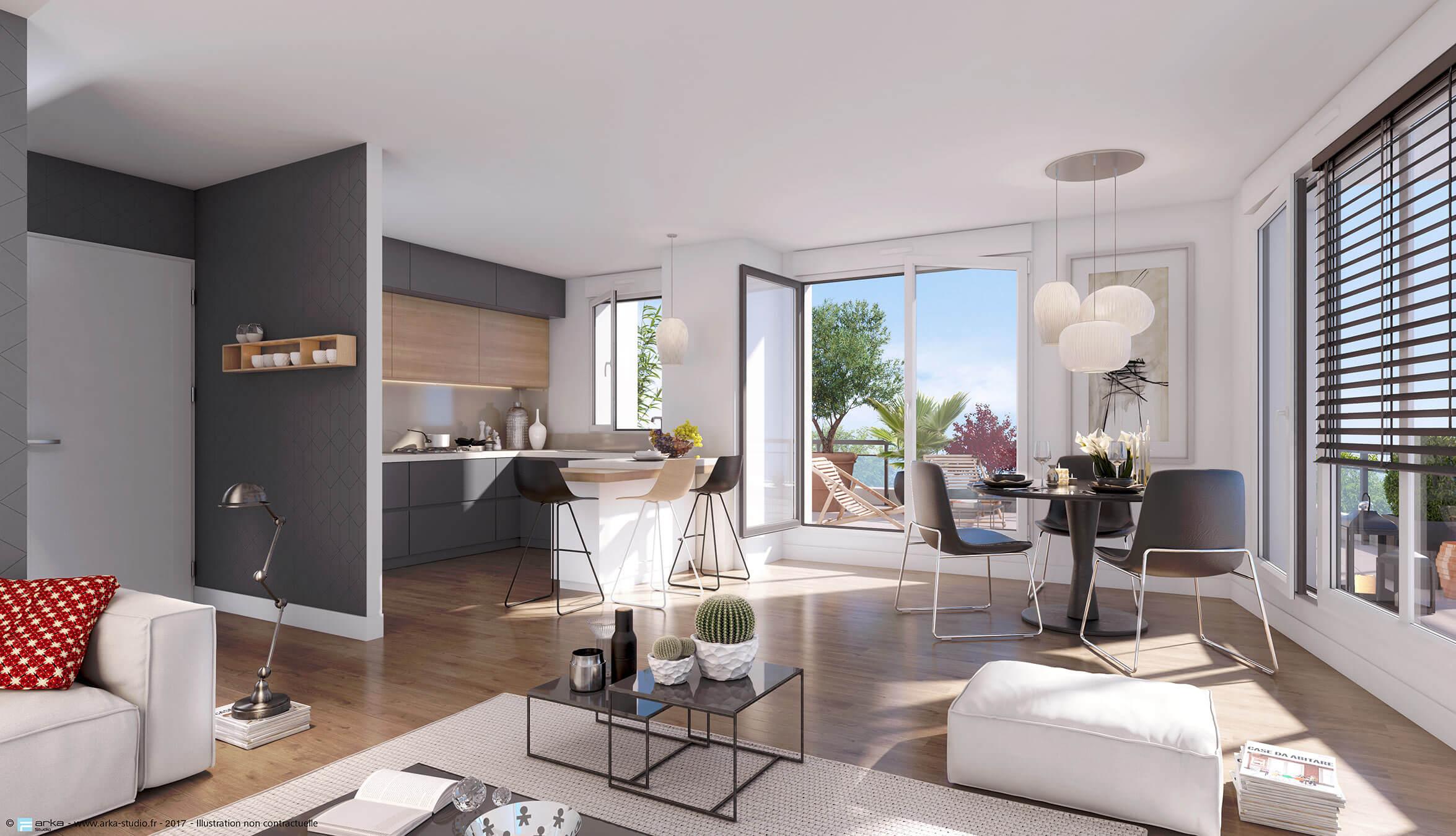 elixir programme immobilier neuf colombes. Black Bedroom Furniture Sets. Home Design Ideas
