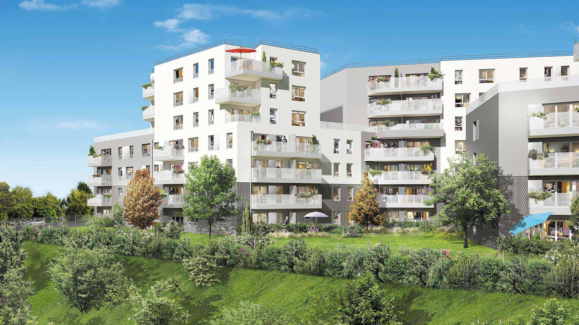 Parenth se verte programme immobilier neuf champigny for Appartement atypique val de marne