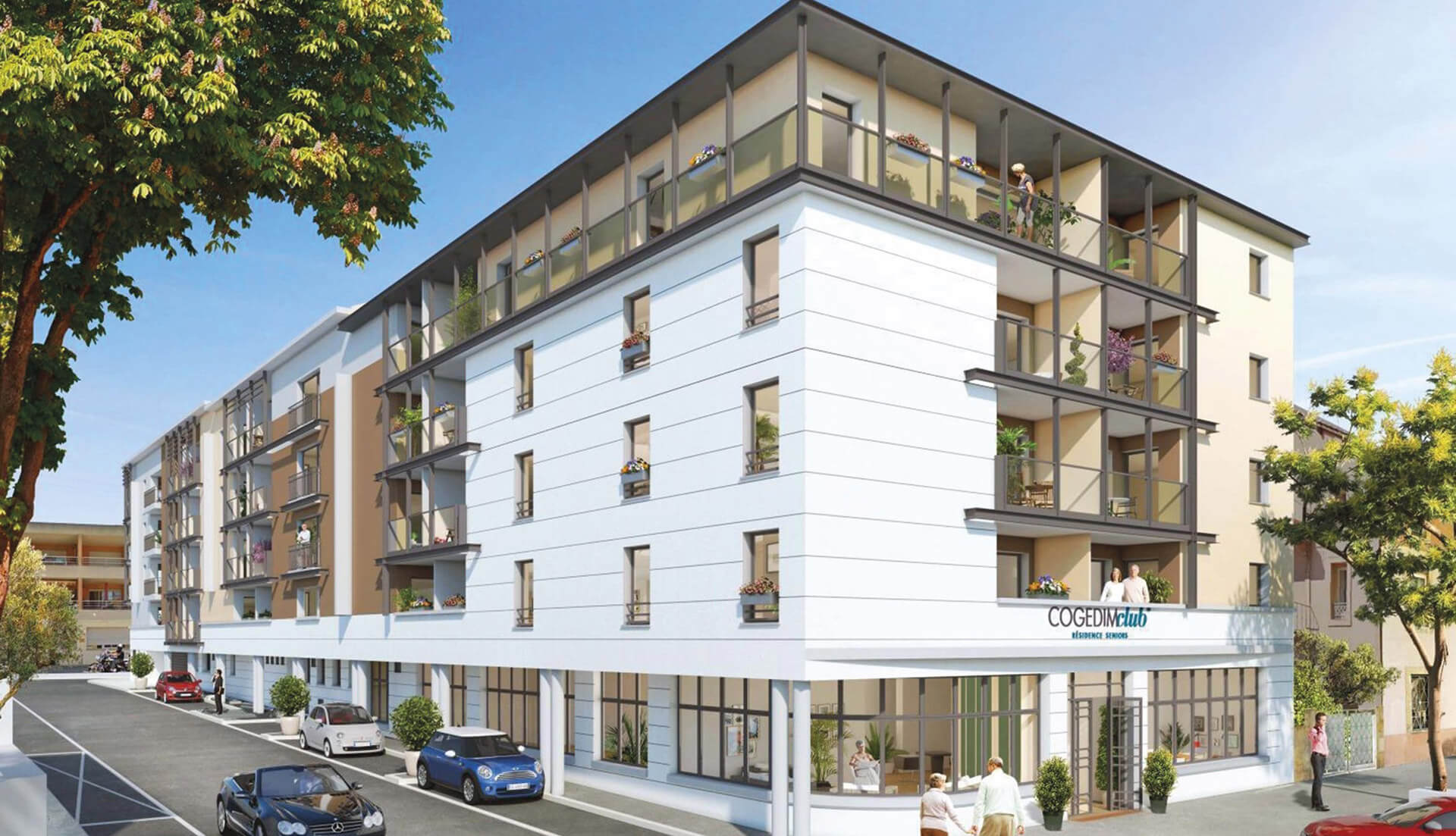 Villa salonia cogedim club programme immobilier neuf - Programme immobilier salon de provence ...