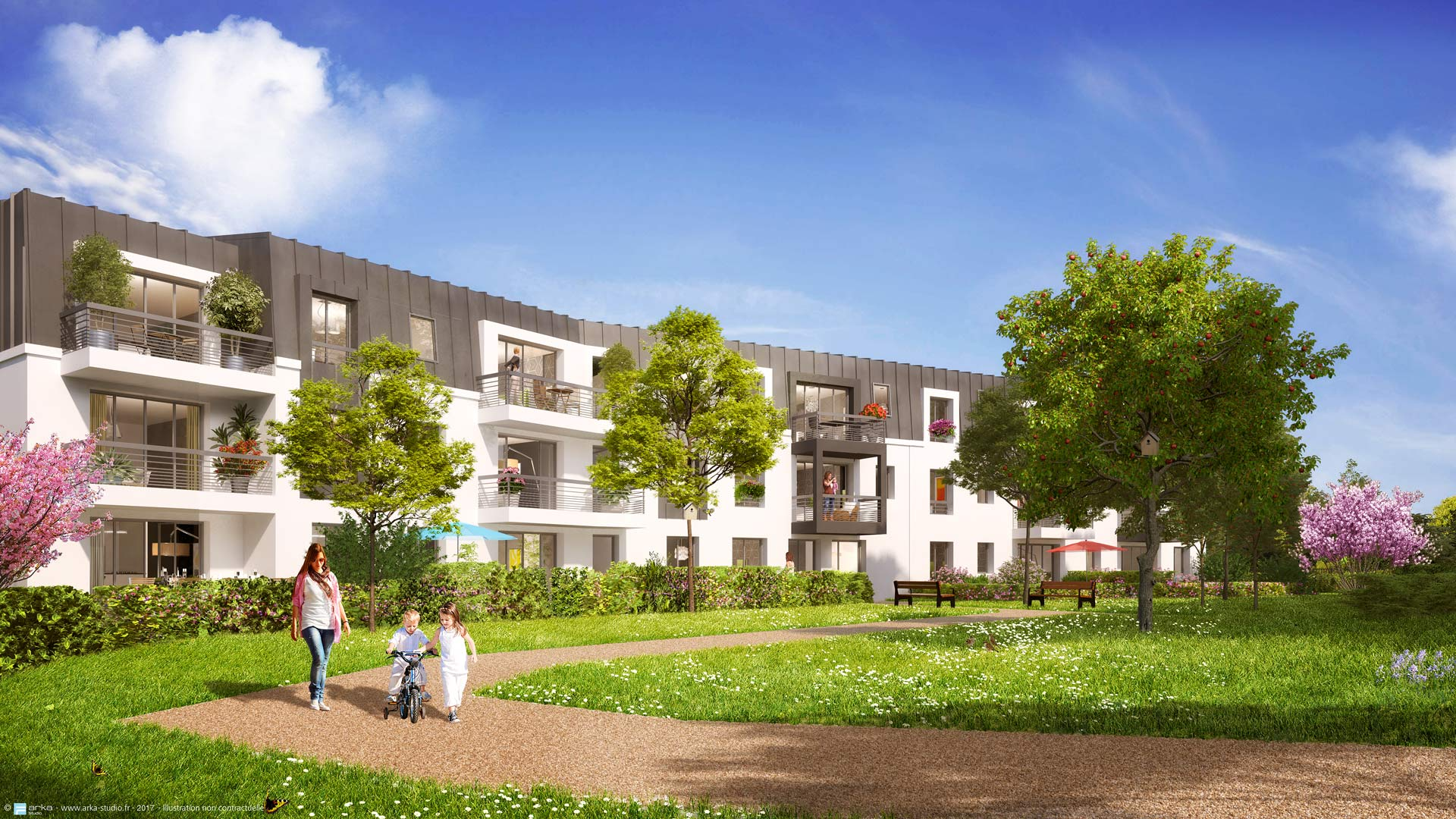 Le clos bois programme immobilier neuf cesson for Aide achat immobilier neuf