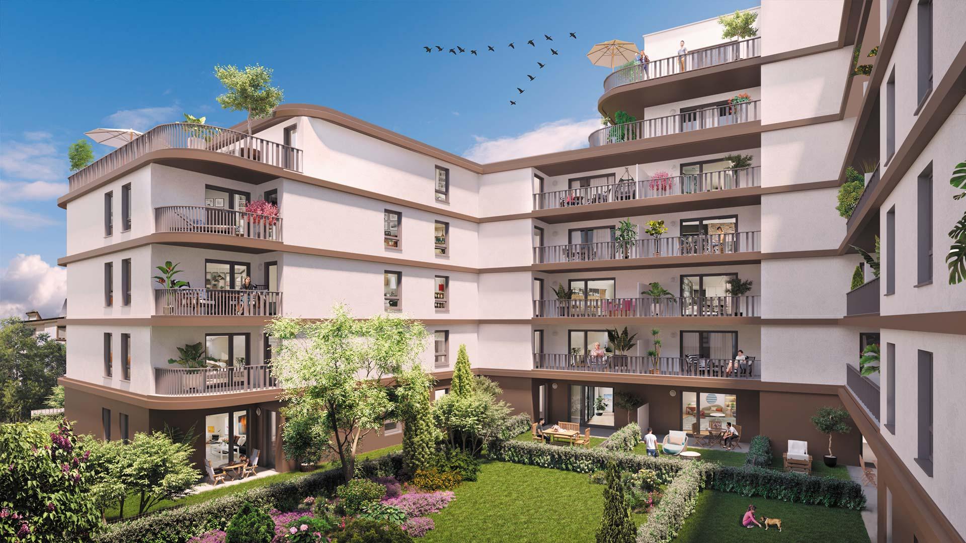 Programme immobilier neuf La Closerie de Cérès - Quartier Fischer