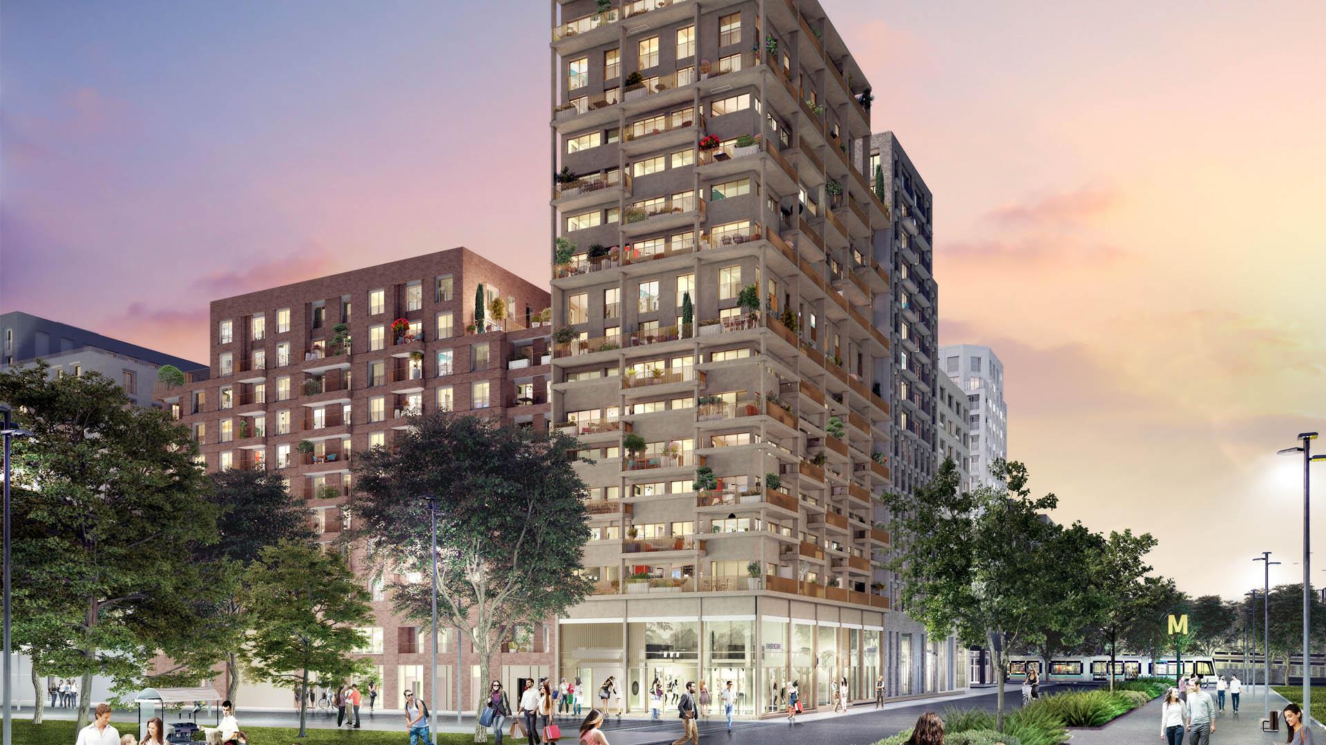Programme immobilier neuf Bobigny Coeur de Ville