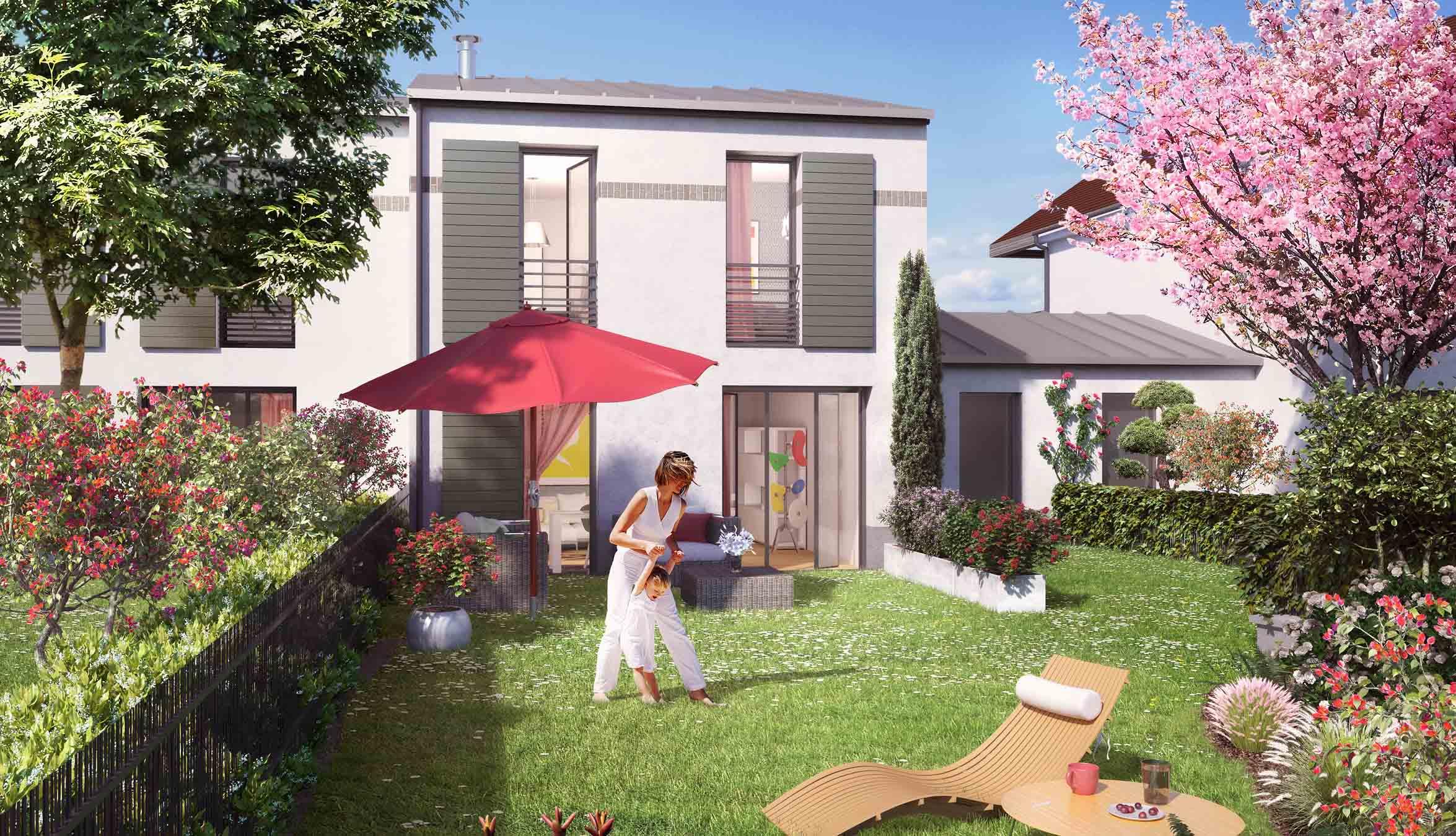 Villas Plaisance Programme Immobilier Neuf à LIsleAdam - Carrelage l'isle adam