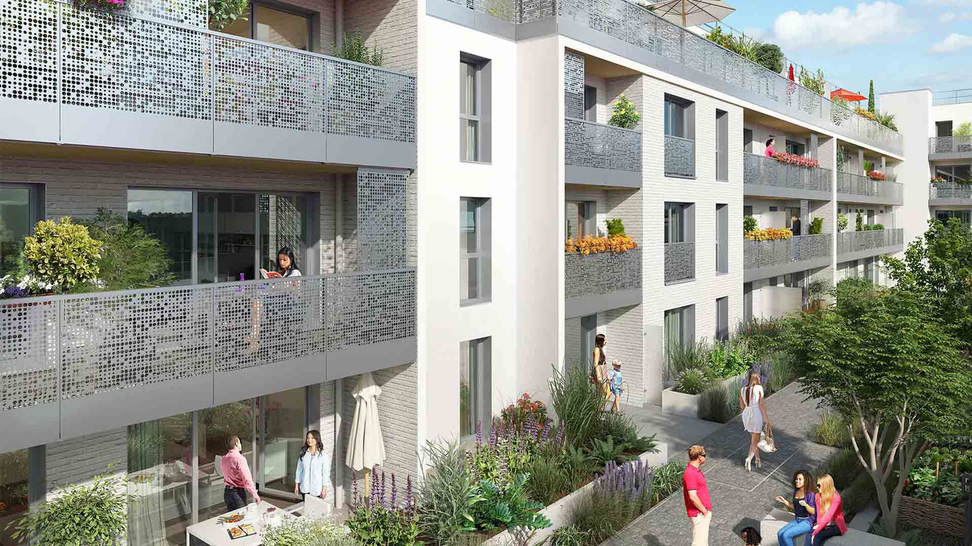 Clos des noyers programme immobilier neuf aubervilliers for Aide achat immobilier neuf