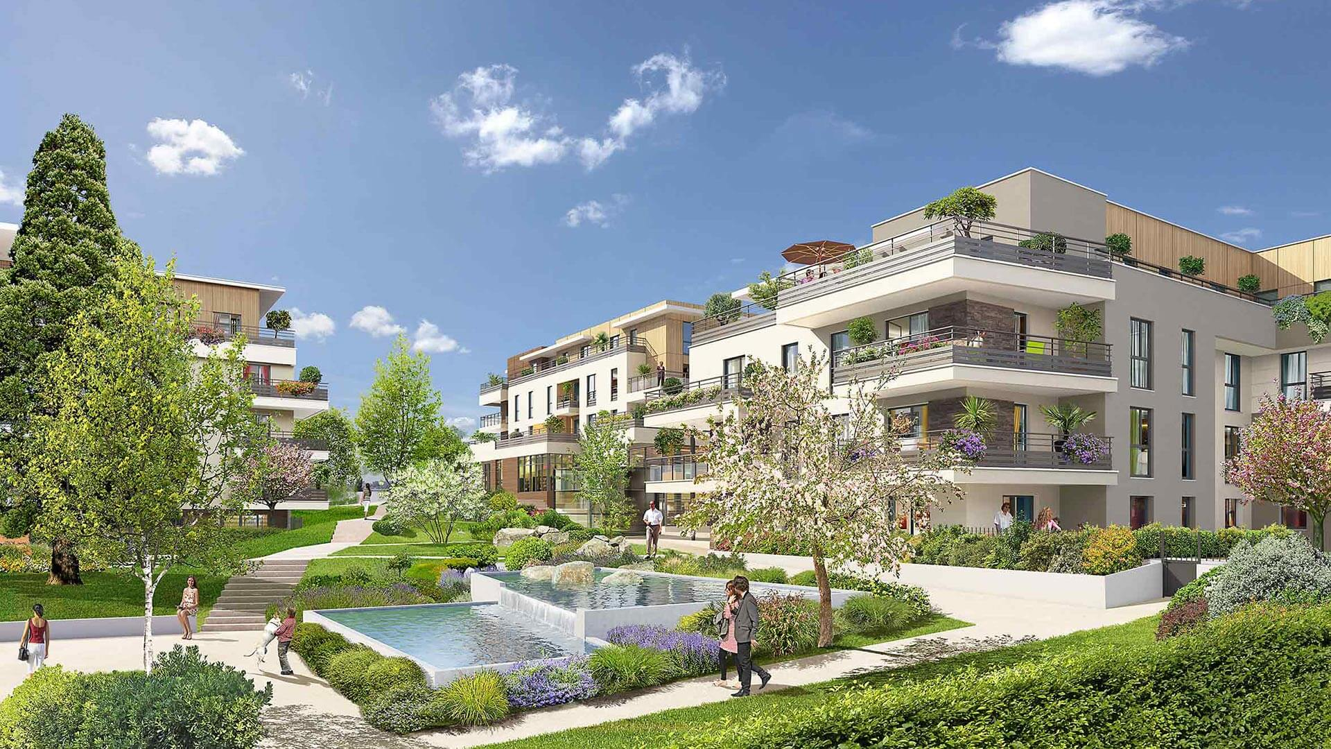 Grand coeur programme immobilier neuf bures sur yvette for Immobilier neuf idf