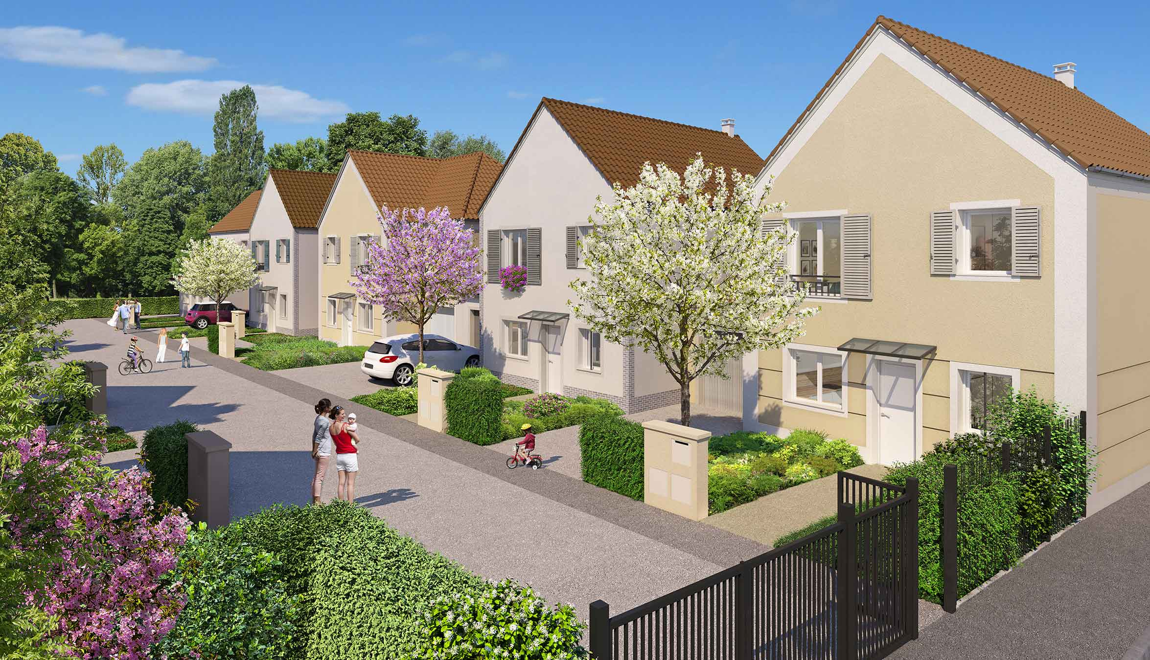 Villas confidence programme immobilier neuf eragny for Immobilier neuf idf