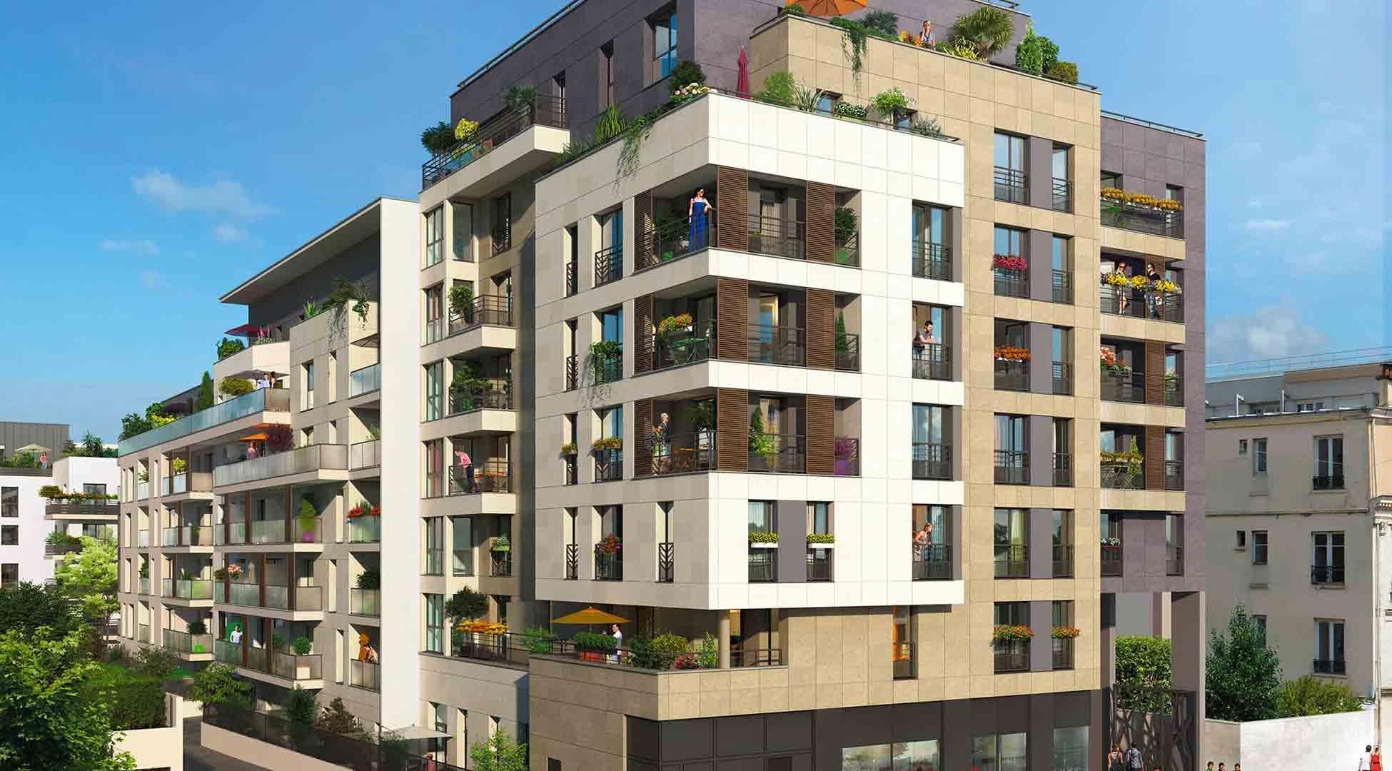 Plein coeur programme immobilier neuf joinville le pont - Residence de haut standing courchevel baltoro ...
