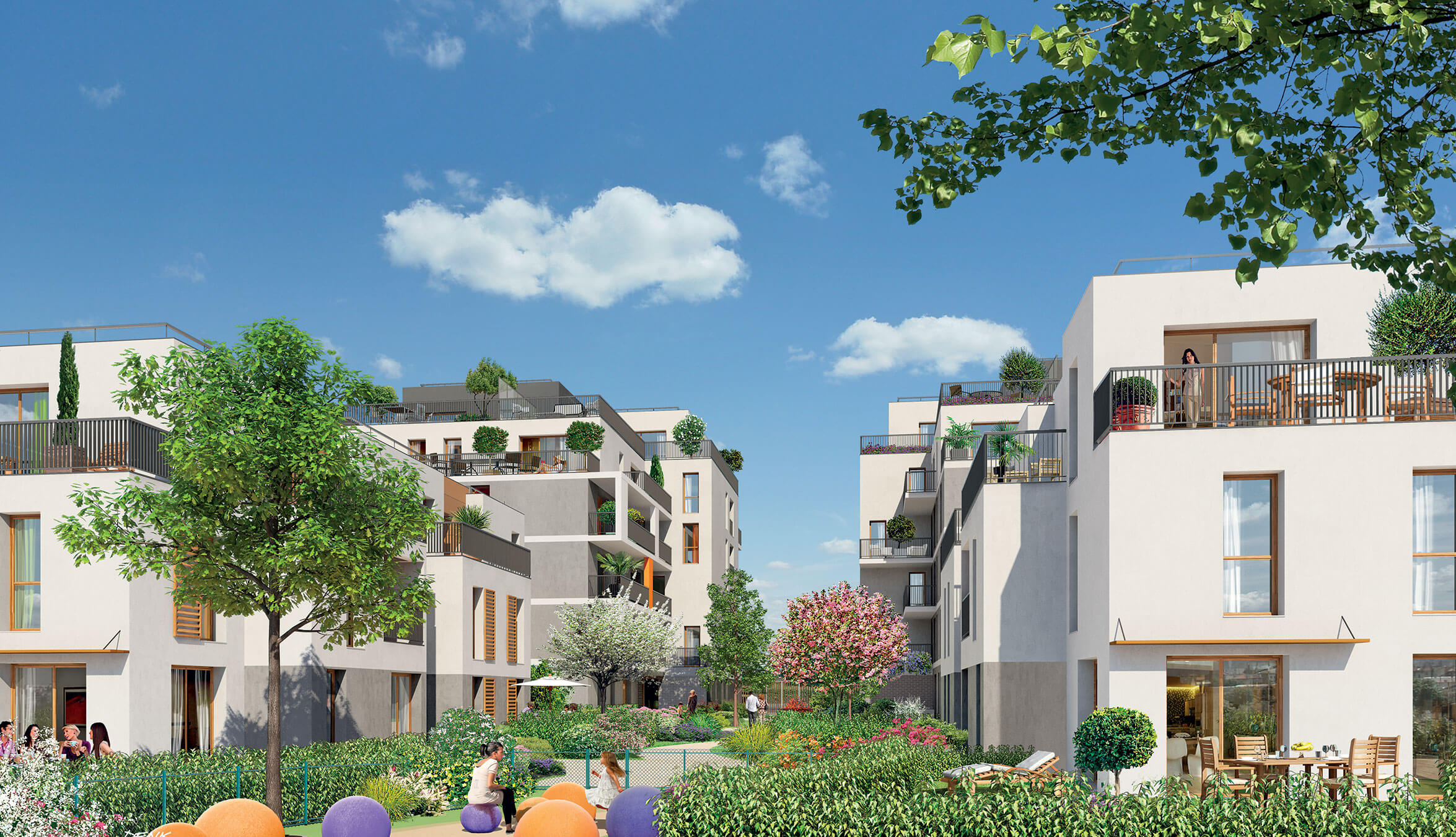 All es saint honor programme immobilier neuf la courneuve for Aide achat immobilier neuf