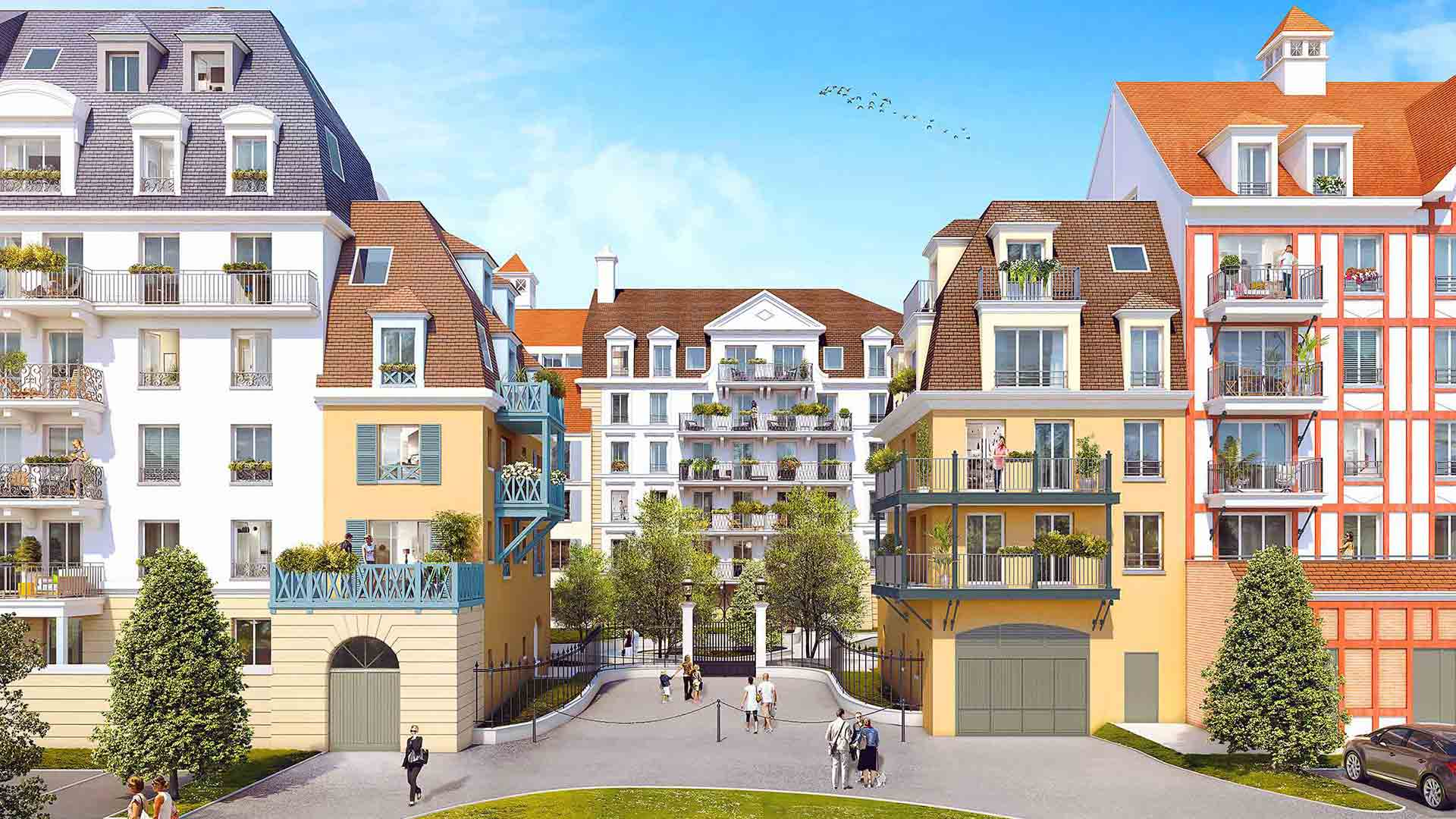 Le domaine des armoiries programme immobilier neuf le for Aide achat immobilier neuf
