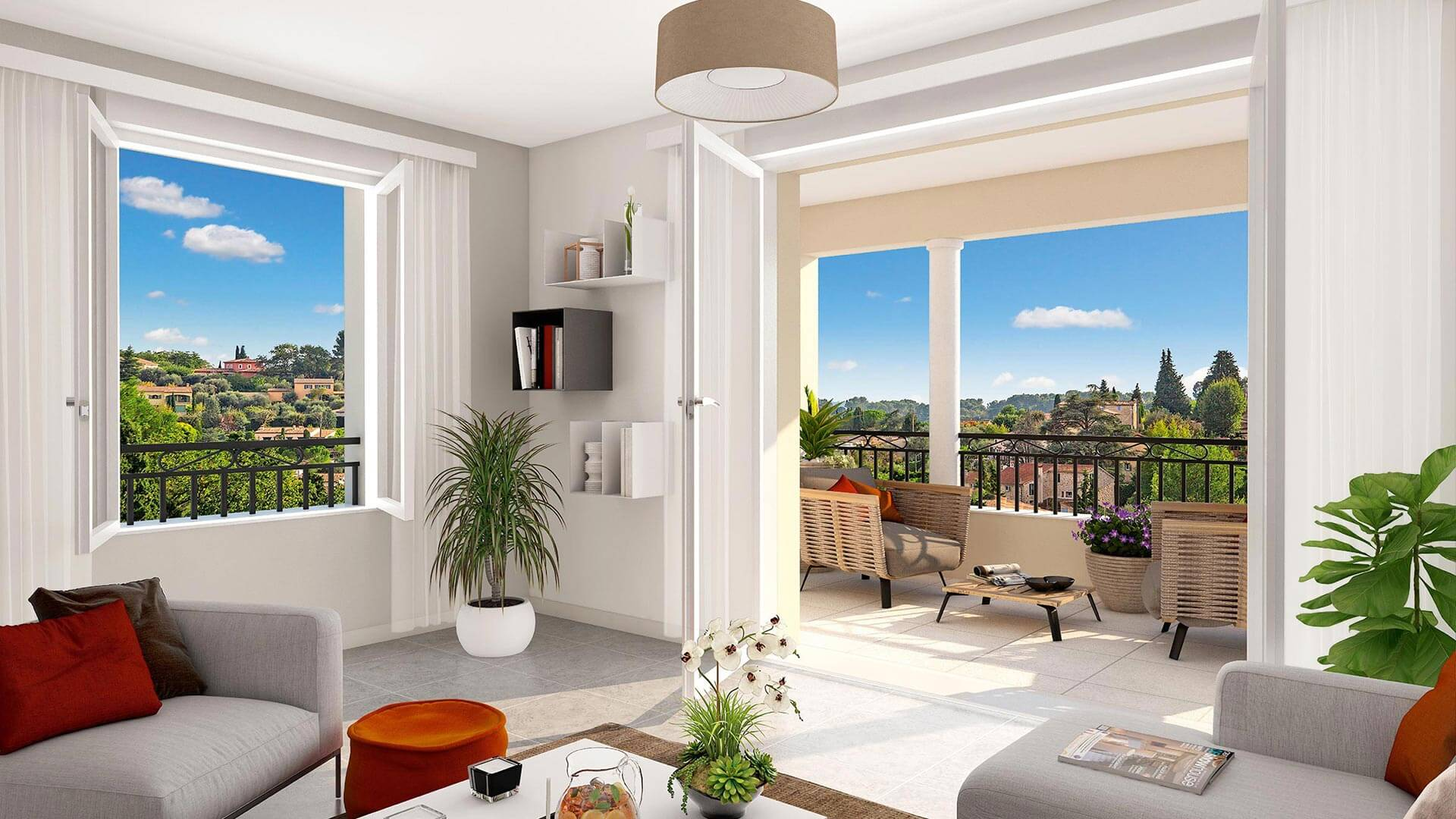 Lices de provence programme immobilier neuf le rouret for Aide achat immobilier neuf