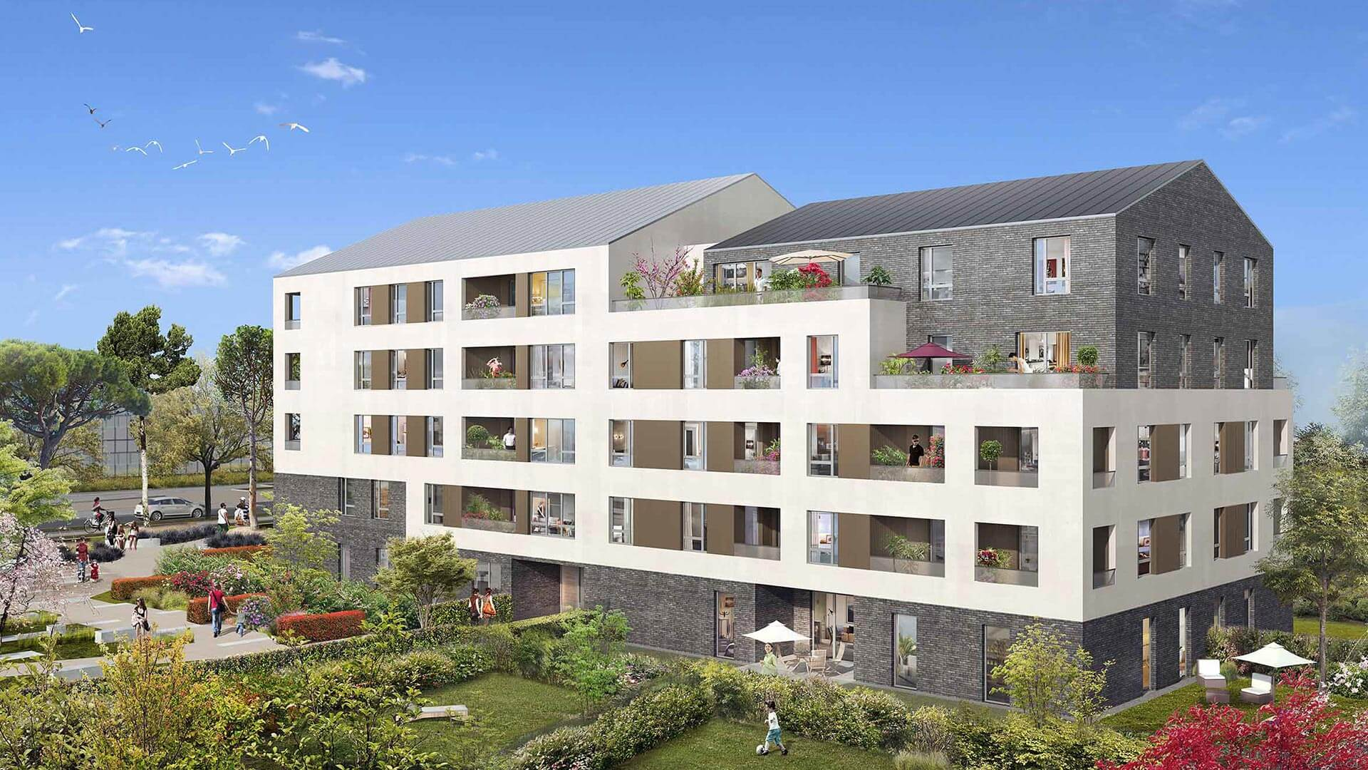 Le carr verger programme immobilier neuf lieusaint for Aide achat immobilier neuf