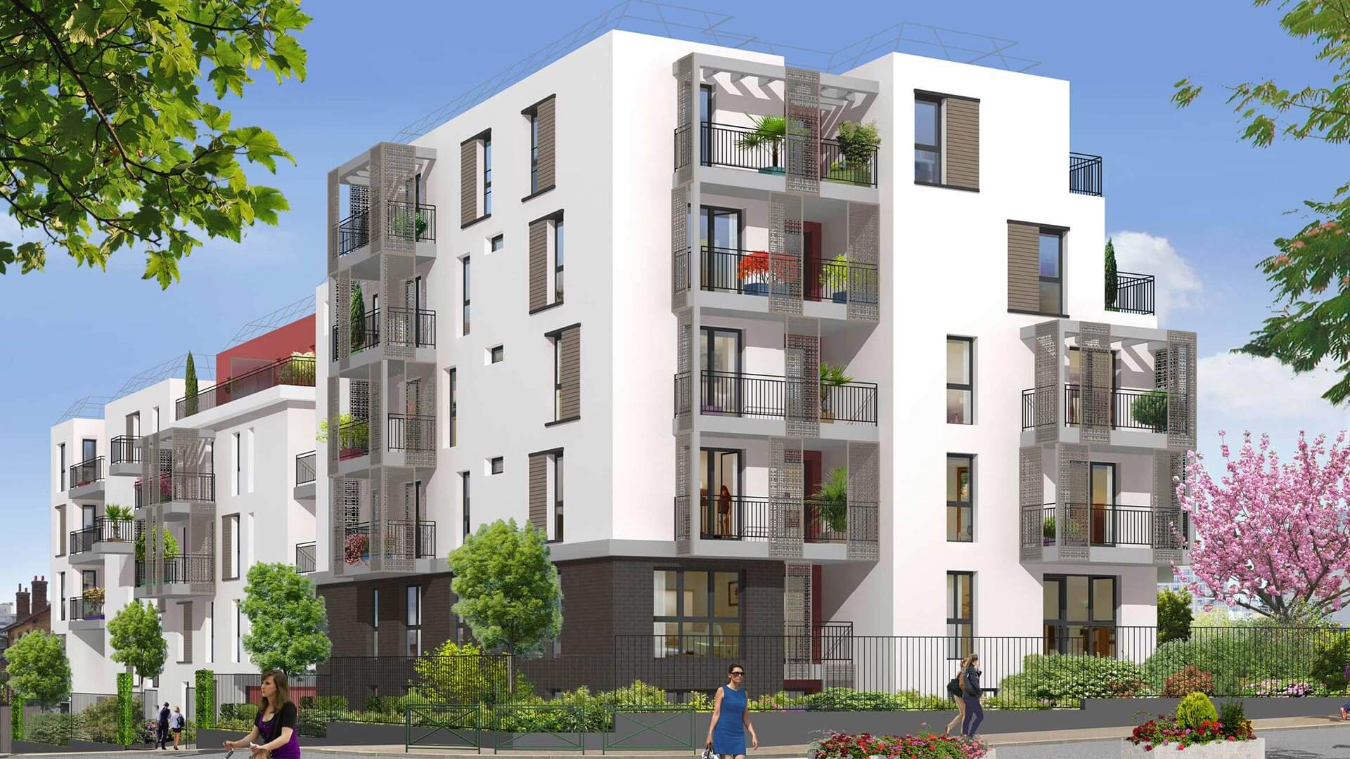 Vue sur parc programme immobilier neuf malakoff for Aide achat immobilier neuf