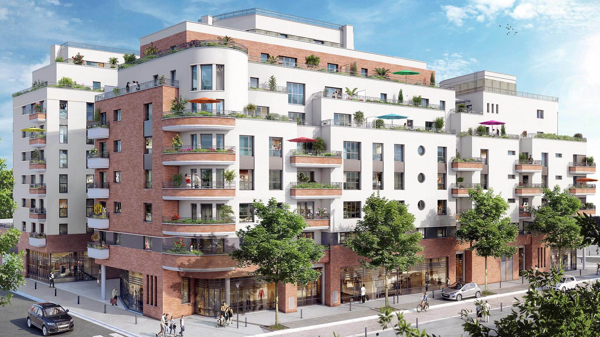Grand arc programme immobilier neuf romainville for Aide achat immobilier neuf
