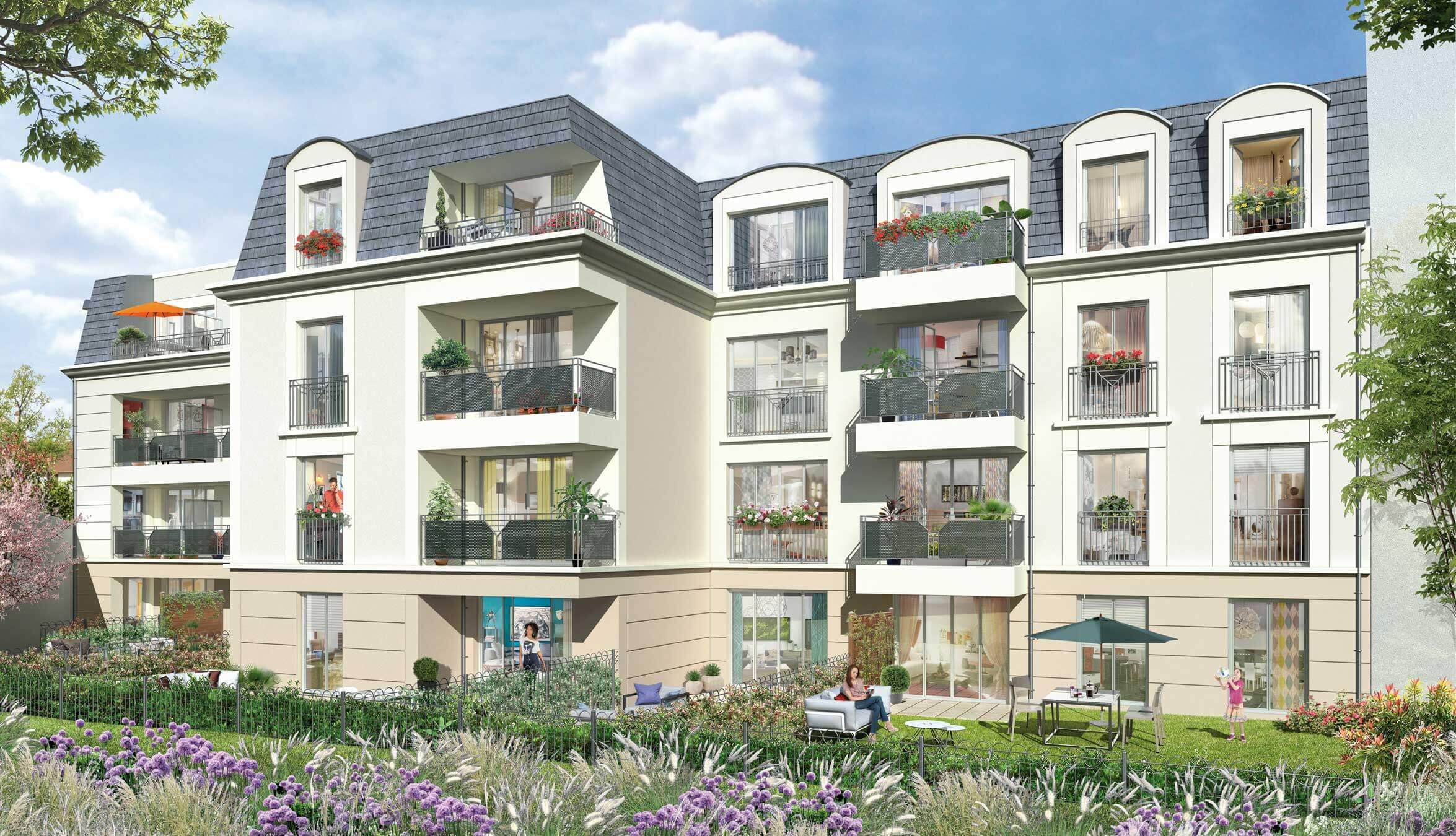 Le clos saint louis programme immobilier neuf saint for Immobilier neuf idf