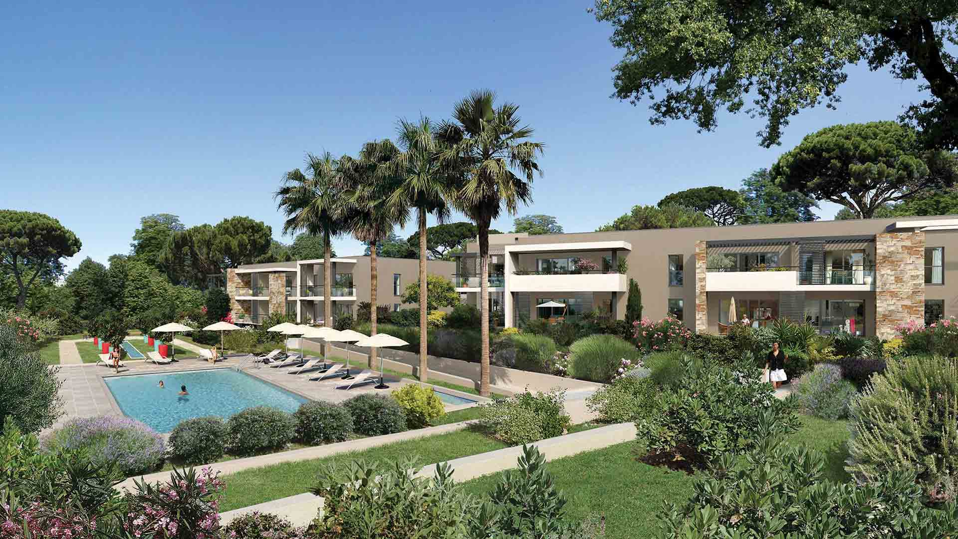 Art park programme immobilier neuf saint rapha l for Aide achat immobilier neuf
